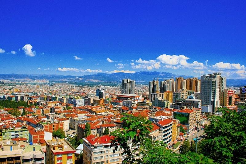 شهر بورسا ترکیه